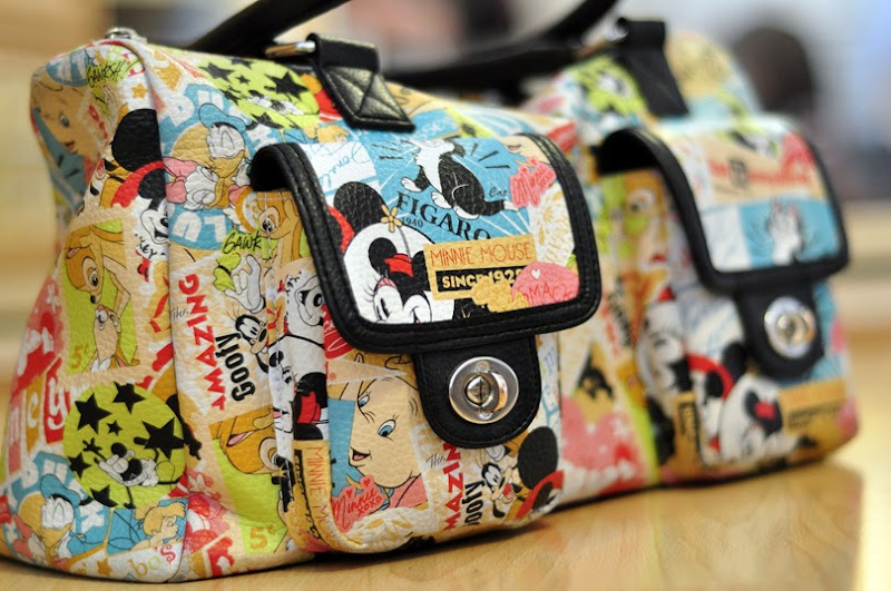 whats in my bag Disney Parks Classic Collage Purse