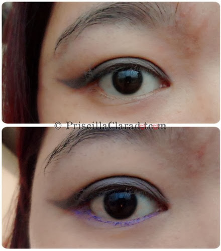 Priscilla Clara beauty blogger IBB MUC Maybelline makeup Color Tattoo Taupe and Purple look