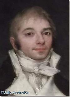 Retrato del Marqués de San Adrián - Goya - Detalle