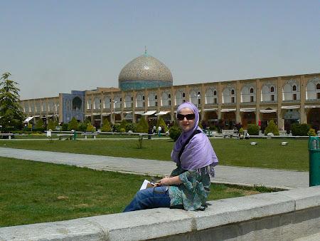 Imam square Isfahan: Sheikh mosque