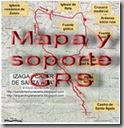 Mapa y soporte GPS - Cascada de Garralda