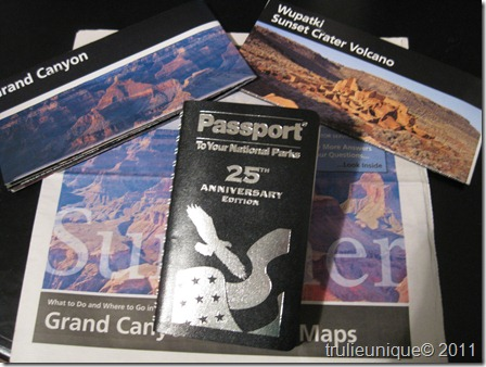 National Park Passport, National Park stamp book, National Park