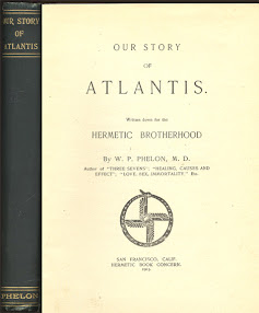 Cover of William Phelon's Book Our Story Of Atlantis