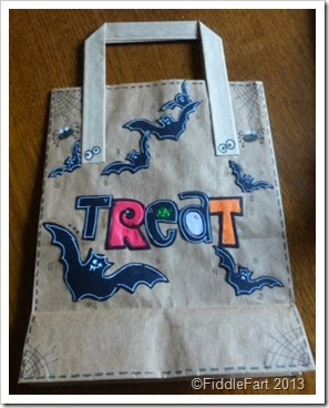 Trick or Treat Bags sizzix dies