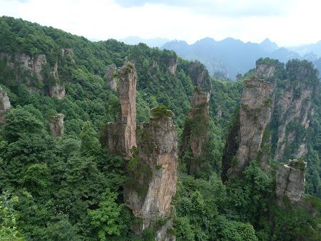Zhangjiajie adevaratul Avatar