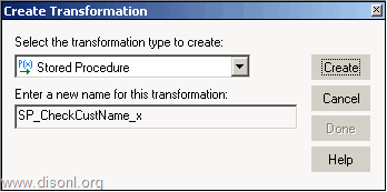 Informatica PowerCenter Stored Procedure Transformation