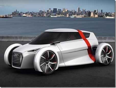 2011 Audi Urban Concept front