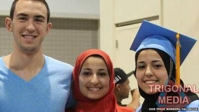 ChapelHillShooting_Deah Barakat, Yusor Mohammad Abu-Salha dan Razan Mohammad Abu-Salha