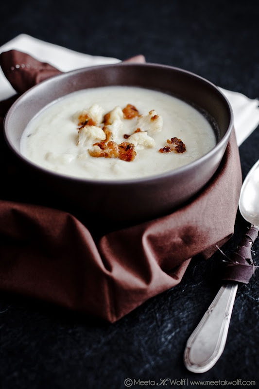 Creamy Cauliflower Soup (0075) by Meeta K. Wolff