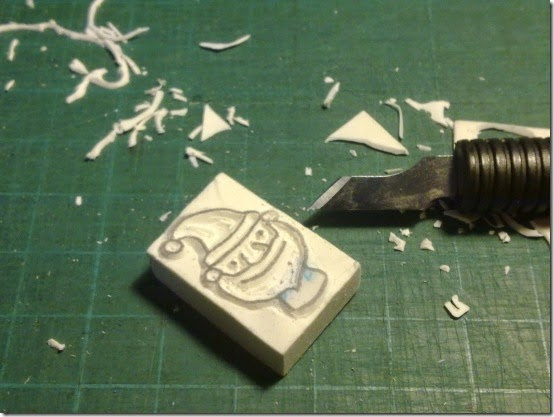 homemade handmade stamps 1