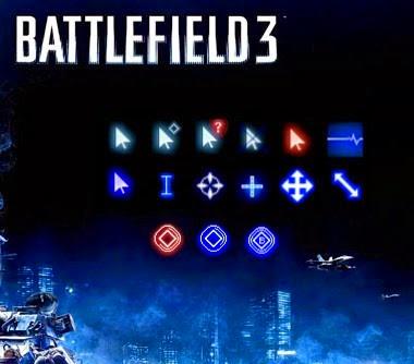 battlefield 3 windows cursors