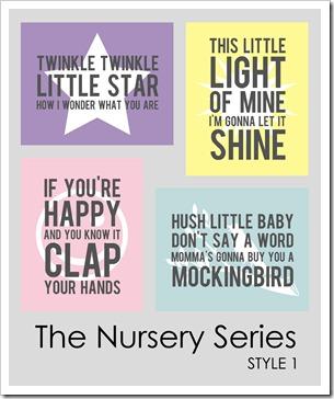 IMAGE - The Nursery Series . Style 1