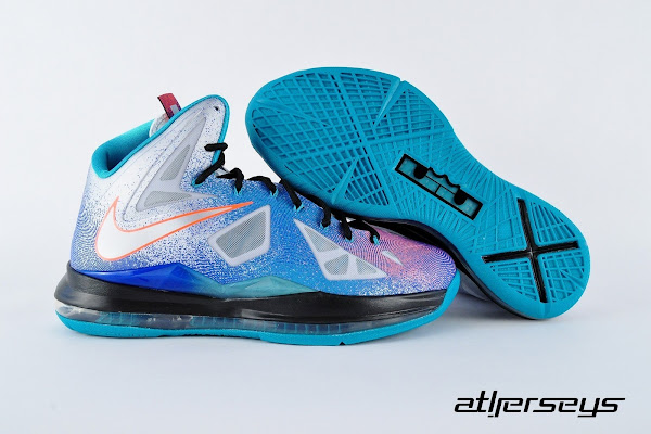 Release Reminder Nike LeBron X 8220ReEntry8221  8220Pure Platinum8221