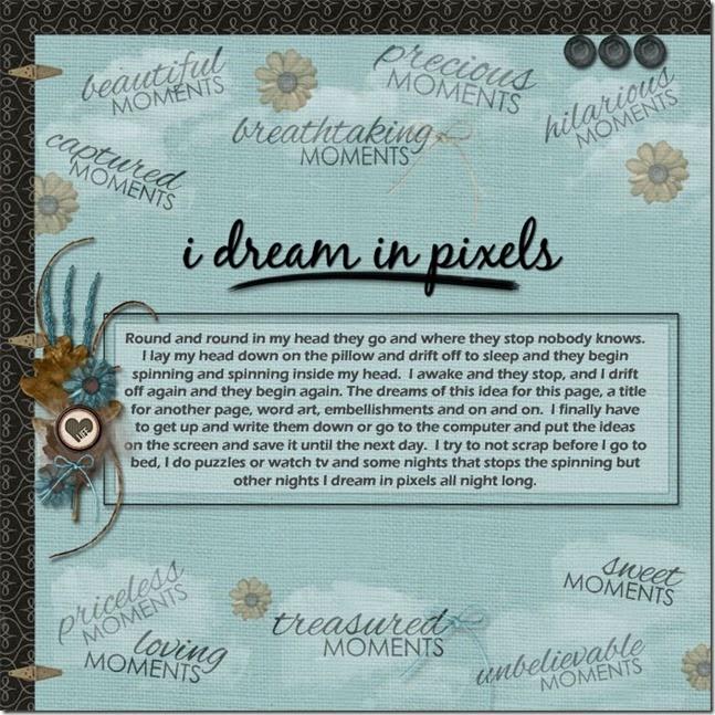 I Dream in Pixels-web