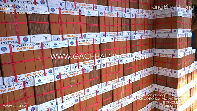 Gạch thẻ đỏ 6x24 Viglacera Hạ Long