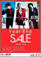 G2000 Year End Sale Branded Shopping Save Money EverydayOnSales