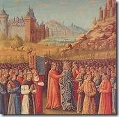0611 Louis VII et Aliénor d'Aquitaine partent pour la deuxième croisade