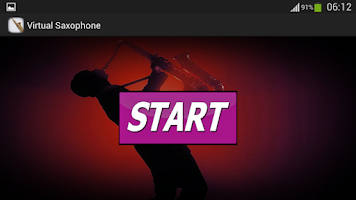 Screenshot of Virtual Saxophone