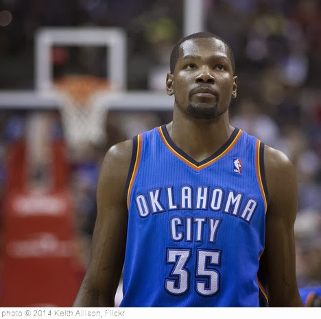'Kevin Durant' photo (c) 2014, Keith Allison - license: http://creativecommons.org/licenses/by-sa/2.0/