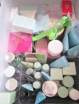 perfume and travel cosmetics drawer, bitsandtreats