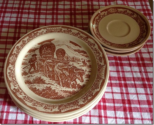 pt plates&saucers