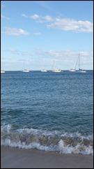 At anchor - Los Frailes