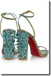 Christian Louboutin Snake Sandals 4