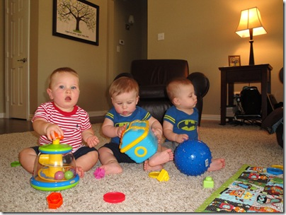 3.  Playdate with Brayden and Bryce
