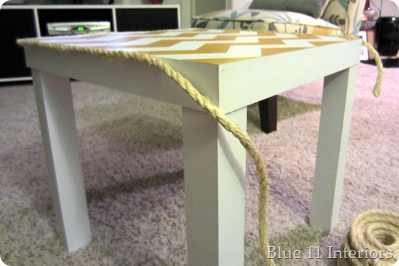 table with rope 1