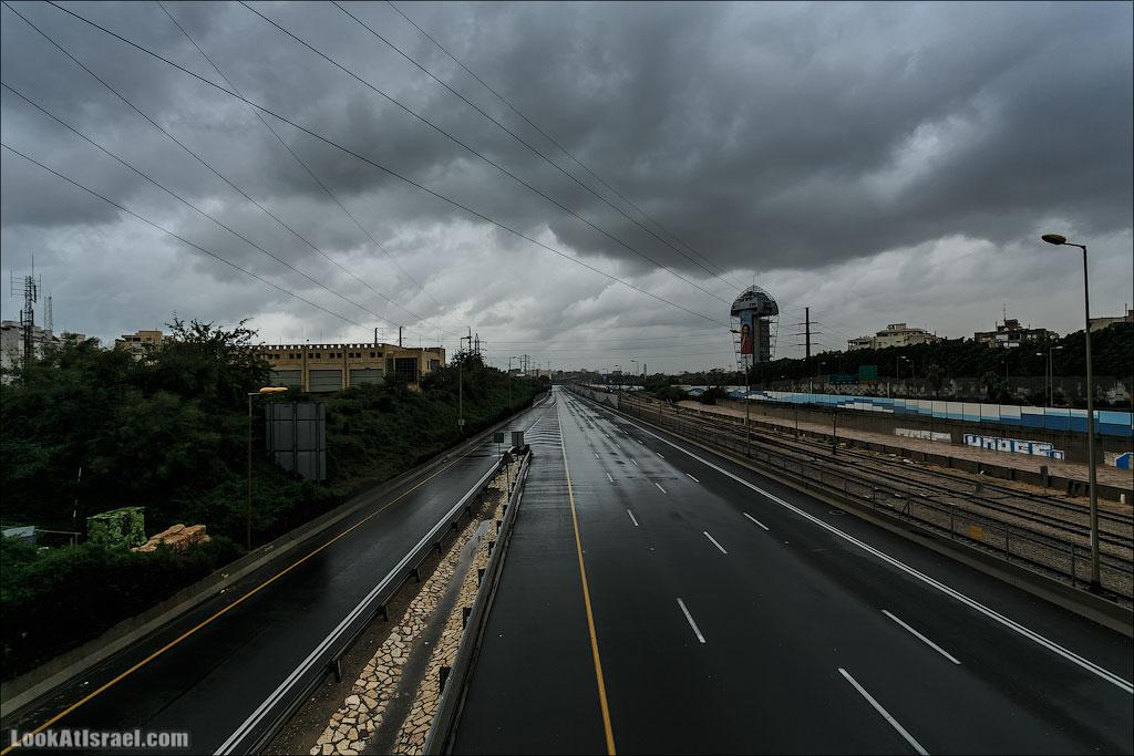 Сказ о том как одна маленькая, но гордая речка парализовала половину Израиля и весь Тель Авив (foto israel  фото тель авив и интересно и полезно дождь и снег  20130108 ta ayalon river 005 5D3 5615)