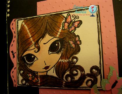 Marbella - Dilo en Espanol - Sketch tarjeta - Latinas en America - Ruthie Lopez DT 3