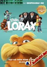 Thần Lorax 3d