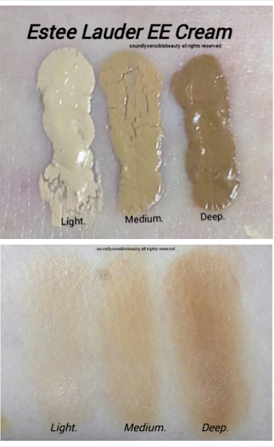 Estee Lauder EE Even Enlighten Cream Review & Swatches of Shades