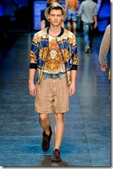 D&G Menswear Spring Summer 2012 Collection Photo 13