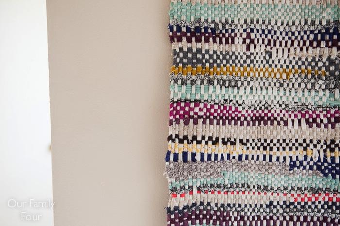 Woven Fabric Scrap Wall Art 1 2