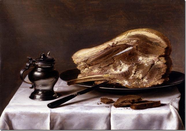 Pieter-Claesz-Stilleben-med-kogt-koed