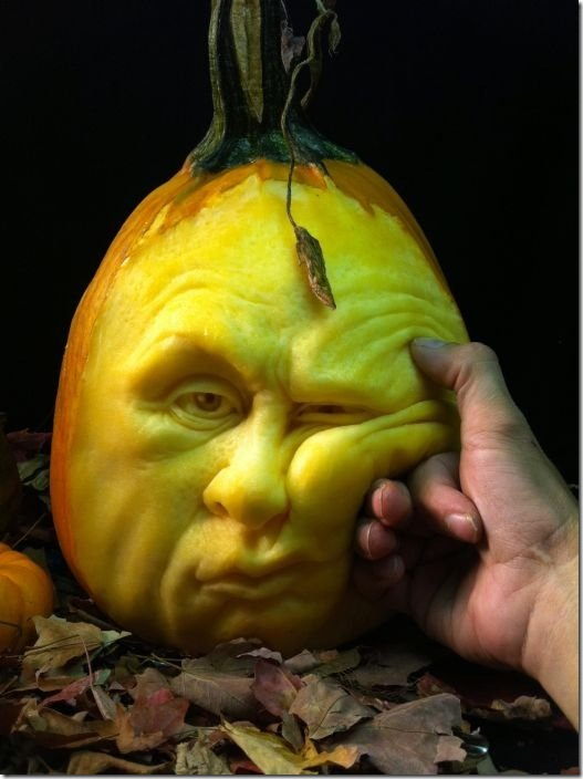 awesome pumpkin carving 21