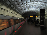 Washington DC subway.