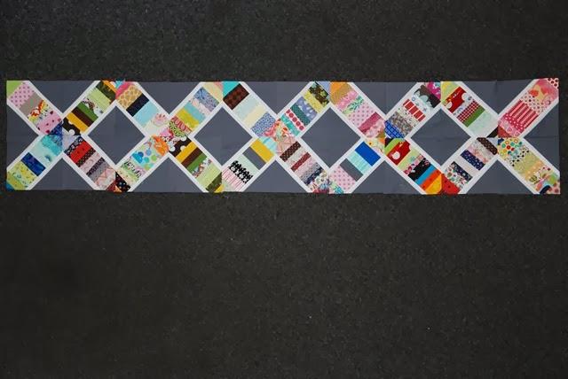 DNA Quilt WIP