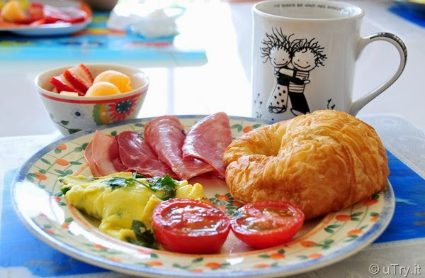 French Breakfast with Herbs Omelette—France Vacation Inspired Recipe  http://uTry.it