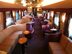 Jun 22 - Lounge car on the Indian Pacific
