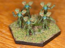 Clan Jade Falcon Elementals