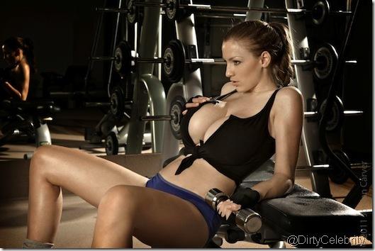 sweaty-Jordan-Carver-Gym-6