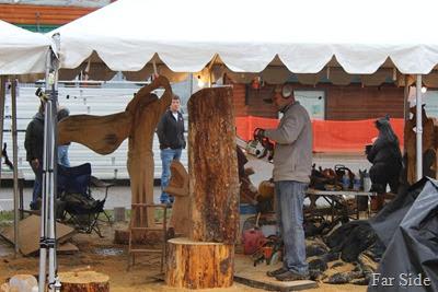 Chain saw carvers