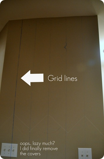 grid lines