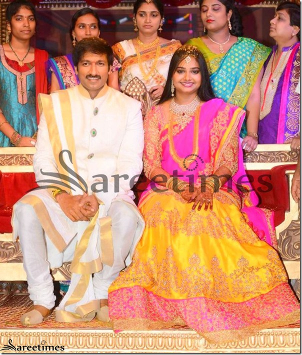 Gopichand_Wedding_Reception_Sari
