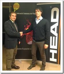 HEAD se convierte en patrocinador principal de la Federación Catalana de Pádel.