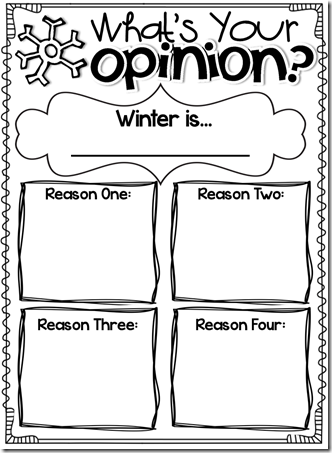 a year of many firsts: Common Core Winter Writing