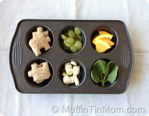 Muffin Tin Lunch Toddler