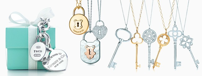 Tiffany & Co. Keys and Locks collection